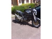 CAGIVA RAPTOR 650 IE ONLY 4,000 MILES - FULL 12 MONTHS MOT - (LIKE DUCATI MONSTER)