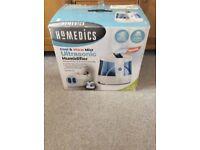 Homedics Cool and Warm Mist Ultrasonic Humidifier