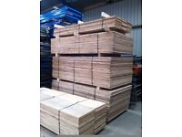 2450mm x 1220mm/760mm/460mm/300mm Chipboard Sheets decking pallet racking board