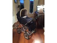 "Large Silver Cross pram and accessories ..."" Elegance"". See all pics"