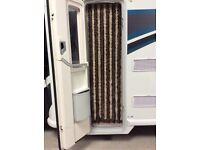 Motorhome Door flyscreen