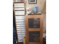 John Lewis desk folding cabinet