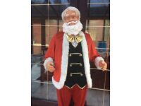 5ft FATHER CHRISTMAS SINGS 5 SONGS