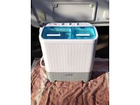 3.5 kg twin tub washer / spin drier as new condition