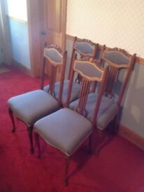 Set of 4 Elegant Dining Chairs