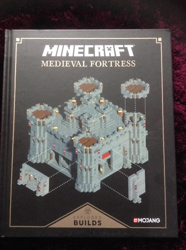 Minecraft medieval fortress book- new