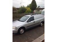 Vauxhall Astra van , only 64574 miles , rear seats