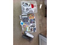 wii Nintendo Console, games and accessories