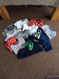 6-9 months baby boys bundle