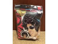 Fancy dress wig with optional sideburns!