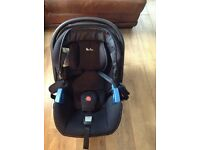 Silver cross car seat and isofix .in black