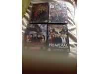 Primeval series 1-5
