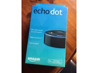 Amazon Echo Dot, 2nd Gen., brand new in box and sealed.