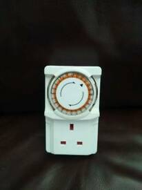 Plug in electric timer