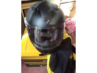 Scorpion Motorbike Helmet. Brand New and Still Boxed. Large.
