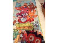 Children's moshi monster sleeping bag