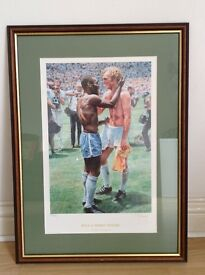 Picture of Bobby Moore and Pele