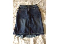 Ladies size 8 denim skirt (Falmer) like new condition collect Sprowston or meet at Riverside