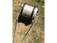 Camping/caravan 40 litre aqua roll portable water rolling carrier hog