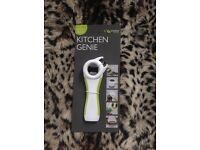 Brand New and Unused Kitchen Genie multifunction can/bottle/jar/ring pull opener