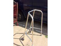 Domestic wheeled Zimmer frame walking frame wheel chair disabled equipment