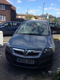 1.6 Vauxhall Zafira, non runner but does start. Selling as spares or repairs.