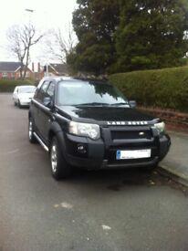 55' plate Freelander XEI in black