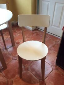 Set of 4 new dining room chairs.