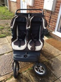 Double Baby Jogger City Elite Buggy