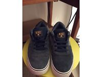 Blue Nike trainers size 7