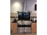 Good home needed for a RANGEMASTER ELITE 110 DUAL FUEL OVEN. Great looking oven.