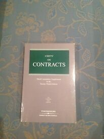 Chitty on Contracts: Third Cumulative Supplement to the 29th Edition