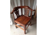 Corner library chair