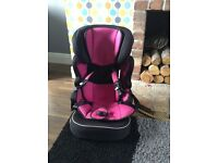Car seat to a booster £30
