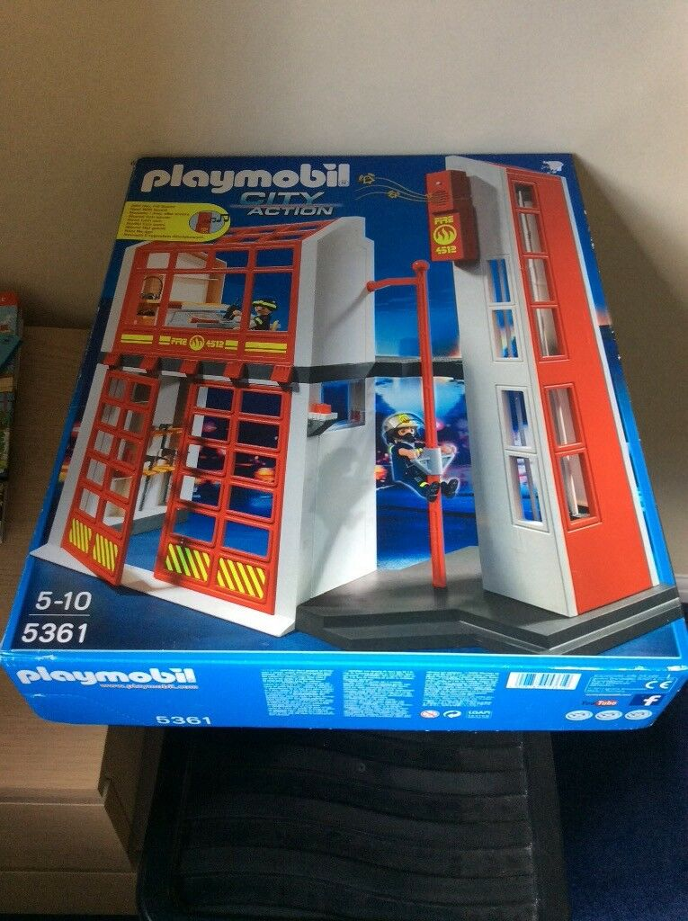 Playmobil City Action Fire Station In Box In Fordingbridge