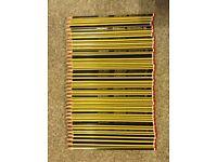 Thirty new Staeder Norris HB school pencils