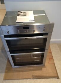 NEW Neff electric double oven
