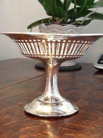Solid silver antique Tazza .1908