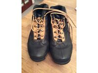 Ladies Black Timberland Boots Size 8