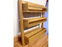 Solid Wood Spice Rack by Wren.
