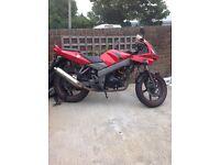 Kymco kr sport 125cc MOT FAILURE £200