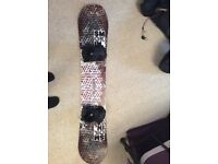 Snowboard equipment - good condition - used for one holiday