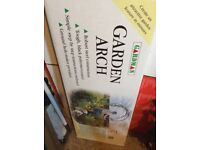 Gardman garden arch still in box