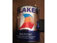 Hempel/Blakes multicoat 750ml navy blue 30100 currently on sale for £25.50