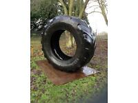 1 x 53 inch Clean Gym Tyre (Delivery Available)