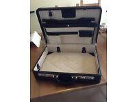 Black briefcase new
