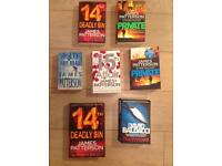 49 Crime Thriller Novels (4 books in pic sold, hence 49 not 53 for sale)