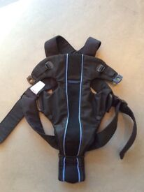 Babybjorn baby carrier (airy mesh) and cover - fantastic condition