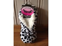 Luxury Tootsie Slippers New with Tags.