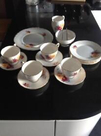 Bone china tea service - Royal Stafford
